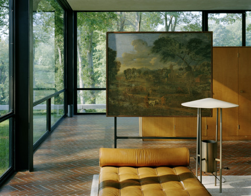 Glass House, Philip Johnson 1949