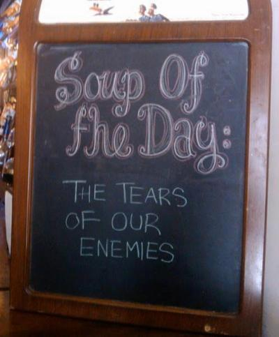 onceuponastylish:  Evil Queen's favorite soup!