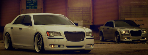 Pimped Chrysler 300 Facebook Cover
