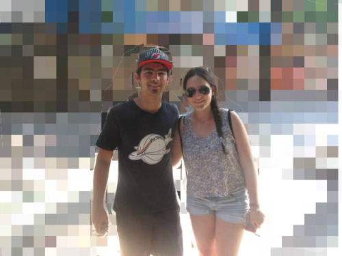 Me and my baby Joe Jonas today!<3