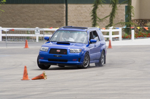 Even Foresters can autocross.