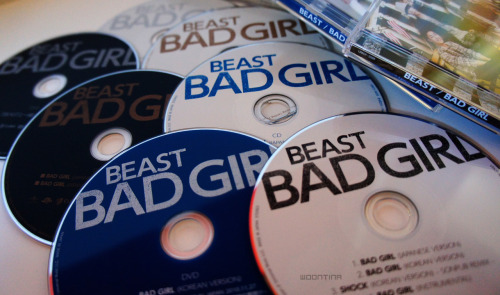 BEAST - BAD GIRL (JAPANESE CDS)