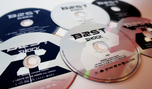 BEAST - SHOCK (JAPANESE CDS)