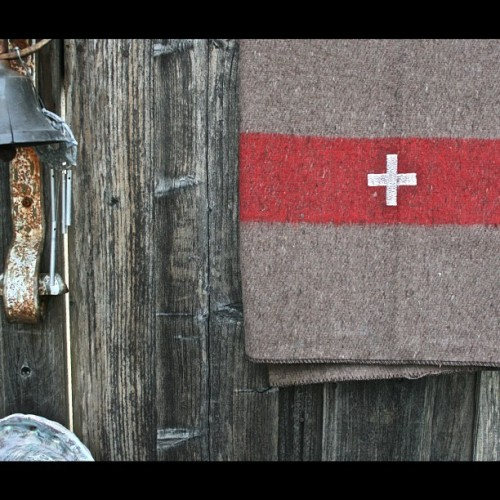 petalumasupplyco:  Swiss Army Military Issued Wool Blankets just hit the shop. (Taken with Instagram)