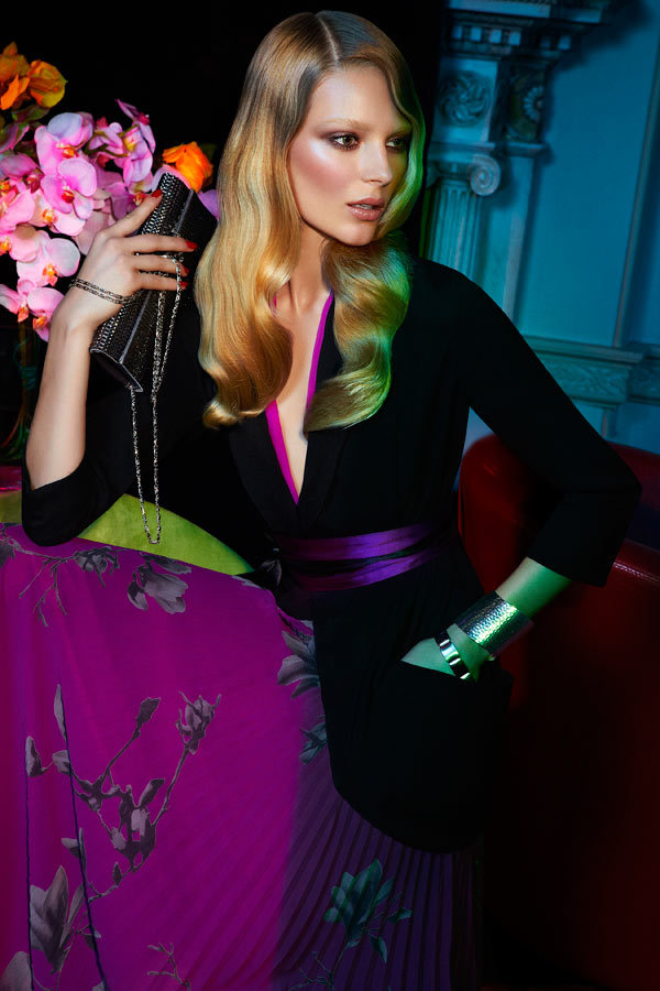leahcultice:  Ieva Laguna for Chateau Holiday 2011 Campaign by Max Abadian