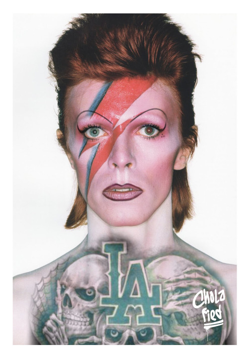 cholafied:  Chola Bowie
