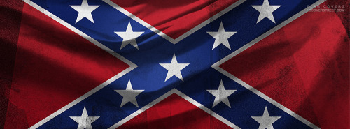 Confederate Flag 2 Facebook Cover