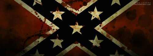 Confederate Flag 3 Facebook Cover