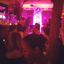 Paloma Faith performs @prabalgurung dinner at Indochine. Zoe Saldana is loving it! KS (Taken with Instagram)