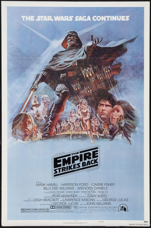 littlebunnysunshine:  The Empire Strikes Back  1980