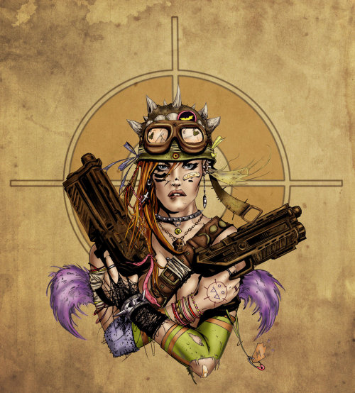 Tank Girl by *alexarosa I saw an avi on Twitter that reminded me Tank Girl is underappreciated.