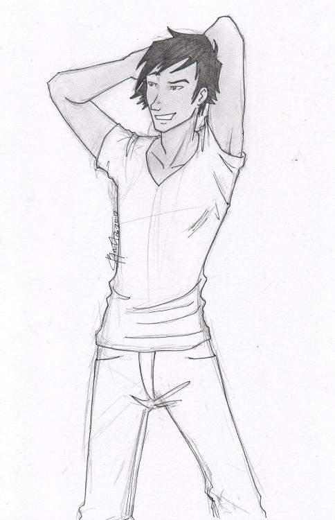ice-ridden:  Kenji from Shatter Me.Because I draw so much Warner. Kenji needs some love.