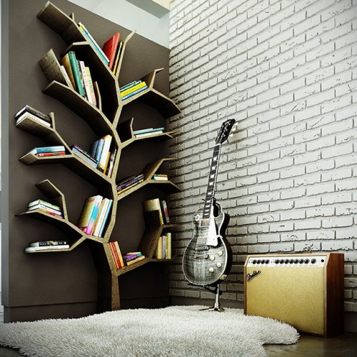 mr-friendly-awesomesauce:  Tree Bookcase