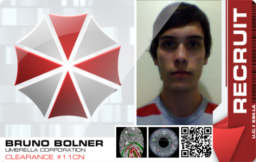 I'm a spy in the Umbrella Corporation.