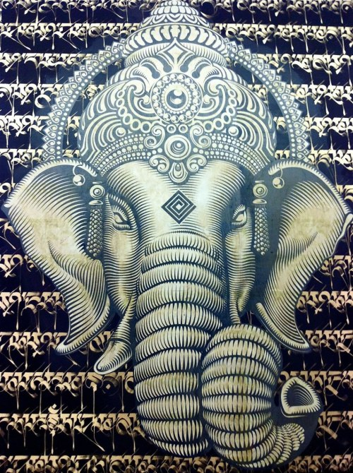 studdedl0ve:  Ganesha is so beautiful!