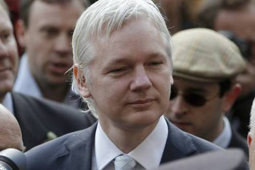 "(via The Mirror) Julian Assange seeks Ecuador asylum: Wikileaks founder goes to the country's London embassy saying he's persecuted Wikileaks founder Julian Assange has taken refuge in Ecuador's embassy in London claiming political asylum. The country's foreign minister Ricardo Patino told a news conference that the controversial whistleblower said he was being persecuted and was seeking asylum. He said that Assange, an Australian, had argued that ""the authorities in his country will not defend his minimum guarantees in front of any government or ignore the obligation to protect a politically persecuted citizen."" Referring to the Unites States, he said it was impossible for him to return to his homeland because it would not protect him from being extradited to ""a foreign country that applies the death penalty for the crime of espionage and sedition."" The move comes less than a week after Britain's Supreme Court rejected Assange's bid to reopen his attempts to block extradition to Sweden, where he is wanted for questioning after two women accused him of sexual misconduct during a visit to the country two years ago. He denies the allegations. READ MORE… [NOTE* from Leftish: Have you seen this story covered on any Cable News shows other than Democracy Now or The Young Turks?  I haven't!  The media thinks that they can ignore Julian Assange, and he'll disappear.  Betcha didn't know he has a show on RT.com either.  Eric Holder's censure trumped everything else in the news cycle when this story broke, and then it was trumped by the story of the 68 year old School Bus Aide getting bullied which was WAY more important than THIS story, right?]"