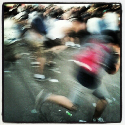 Title Fight mosh pit. Irvine, CA #warpedtour  (Taken with Instagram)