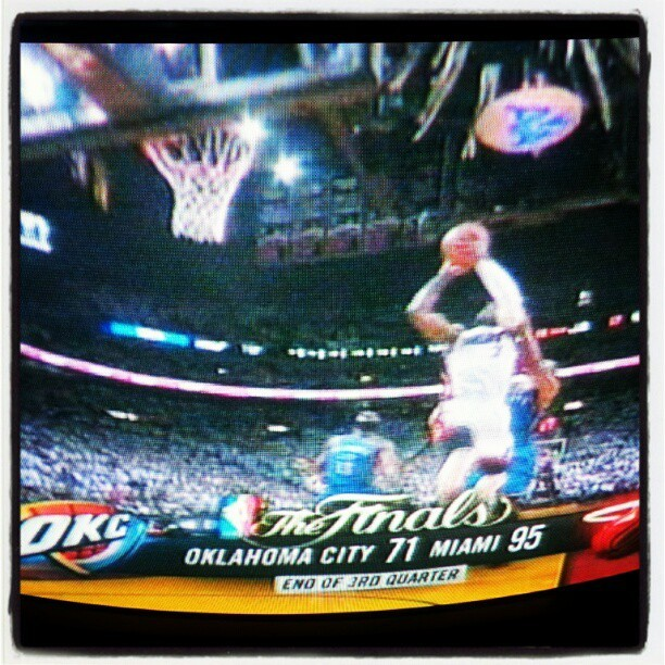 #gameover #heat #heatnation #finals #BEATOKC….  AND people said OKC had it in the bag #false (Taken with Instagram)