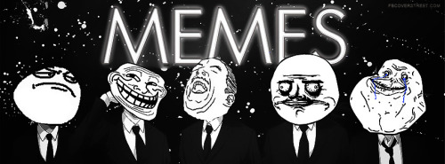 Meme Heads Business Suits Facebook Cover