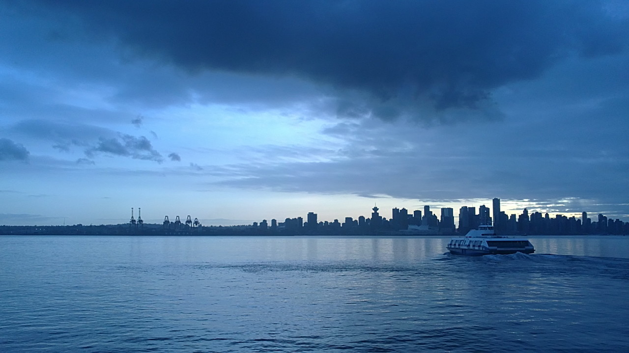 juliagallery:  The Vancouver Seabus Departing North Vancouver
