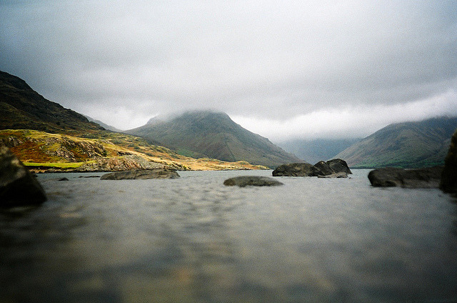 cannolis:  low down in the lake district by lomokev on Flickr.
