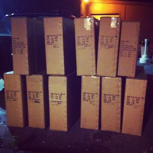 Lots of Handsomes going to the 24 hour FedEx.  (Taken with Instagram)