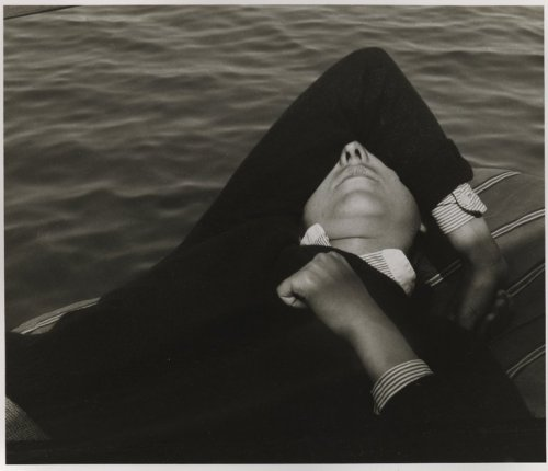 Girl in Boat, 1935 Nathan Lerner