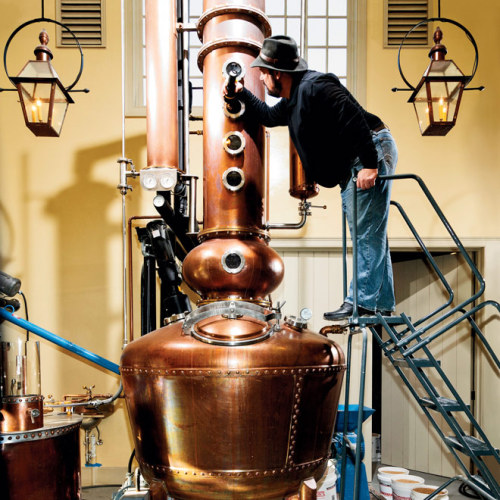 """Almost all innovation in the spirits world is coming from the craft players,"" David Pickerell says. He's not talking about ghosts; he's talking about hard liquor. It used to be that the nouveau riche wanted to produce their own pinot noir. Nowadays they're making their own bourbon. Since 2003 the number of licensed craft distillers has quintupled to 400, according to the American Distilling Institute. And Pickerell is eager to help upstarts—for a fee. More @ Gadget Lab."