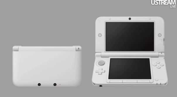 herronintendo3ds:  NEW LARGER 3DS (Comes out the same day as NSMB2 in Japan)  The screen is 4.88 inches. It vies 90% extra view area. The lower screen is now 4.18 inch. It also has 90% extra view area. The game will have slightly longer battery life. Also, they're increasing the size of the Memory Card to 4 gigabyte. In order to keep the cost down, they won't be including an AC adapter. You'll have to buy it separately, but you can also use your adapter from your other Nintendo hardware.  ~Source  Looks cool but I don't see myself buying one