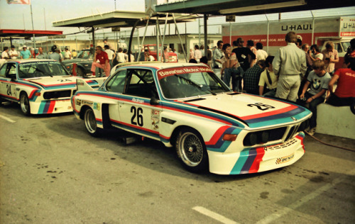Brian Redman's BMW 3.0 CSL Image by Nigel Smuckatelli (via:itcars)