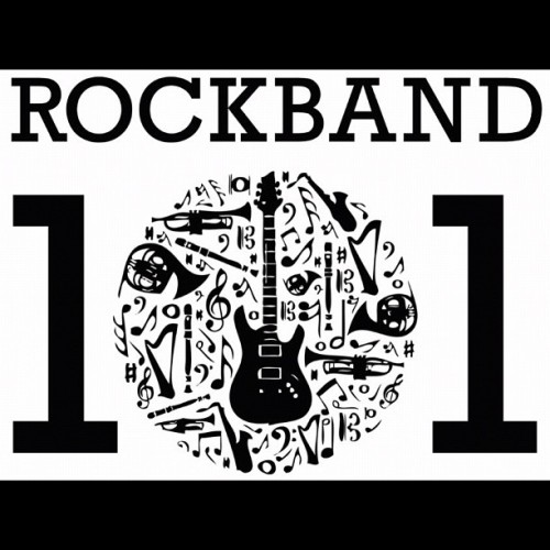 "mayukathais:  The logo for my summer songwriting class ""ROCK BAND 101"" design by @dakietz @youthspeakup  (Taken with Instagram)  Have a wonderful time teaching, Mayuka!"