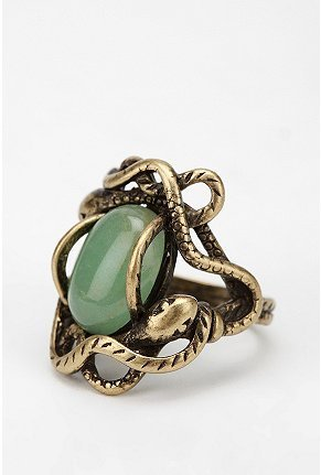 UrbanOutfitters.com > Circling Serpent Ring on We Heart It. http://weheartit.com/entry/14627650