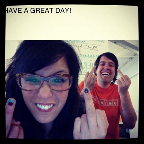 HAVE A GREAT DAY! From me and @anthonydines (Taken with Instagram at NYC Summer)