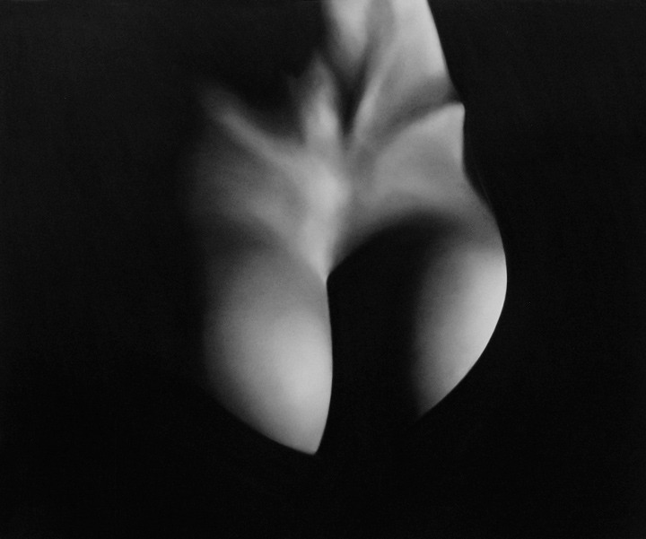 cavetocanvas:  Robert Longo, Untitled (Angel), 2009. Charcoal on mounted paper.