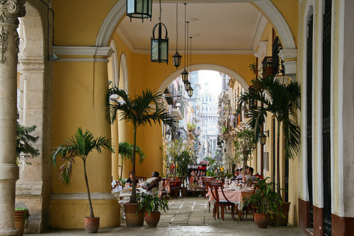 visitheworld:  Plaza Vieja in Havana, Cuba (by maluni).