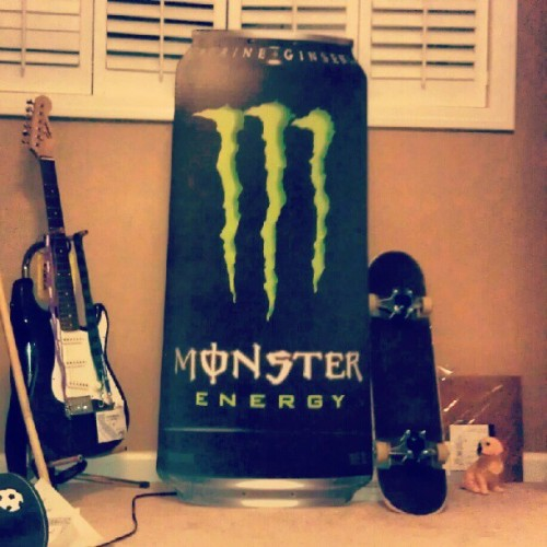 Anybody want 20 or so gallons of monster? #monsterenergy  (Taken with Instagram)