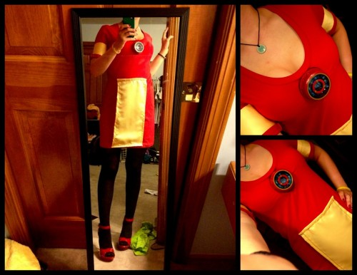 400daydreams:  :DDD Working on a FEM! Iron Man cosplay!