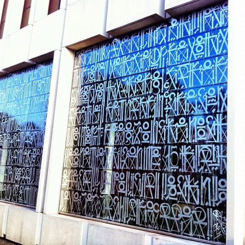 New Retna mural on Wilshire across from LACMA (Taken with Instagram)