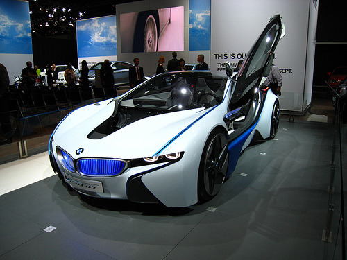 bobshere:  Bmw Concept Model of the planned M8 Hybrid Supercar