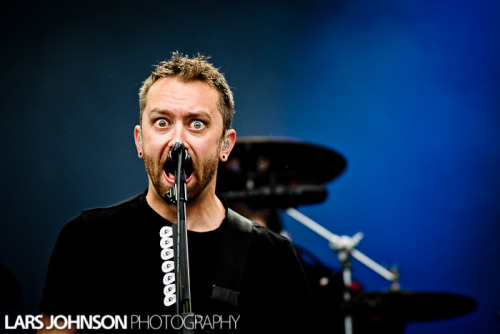 xriseagainstx:  Rise Against at Provinssirock 2012 by Lars Johnson Photography.