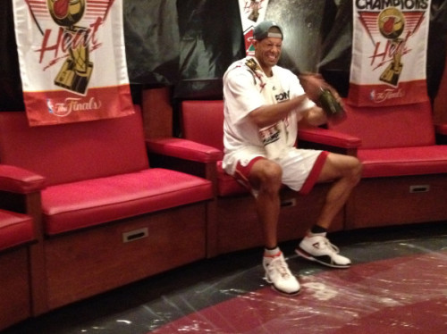 nbaoffseason:  Shane Battier, the no-friend champion. @Suga_Shane