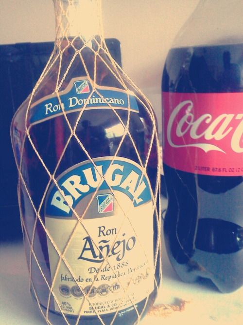 Brugal and coke