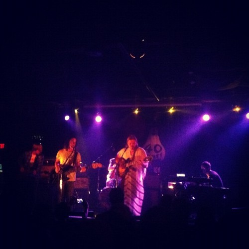 @ponderosa_music on now at @40wattathens! @newwestrecords @normaltownrec (Taken with Instagram)