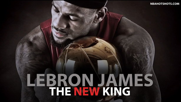 LeBron James Is The Official NBA Kings