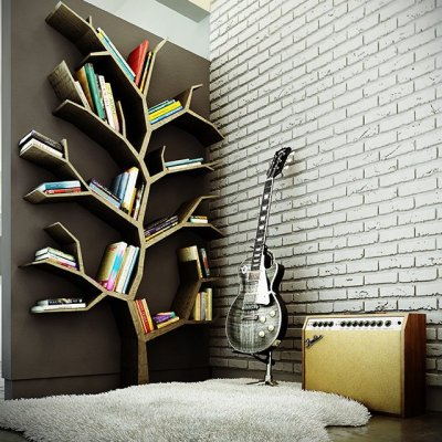 cordura:  Tree Bookcase