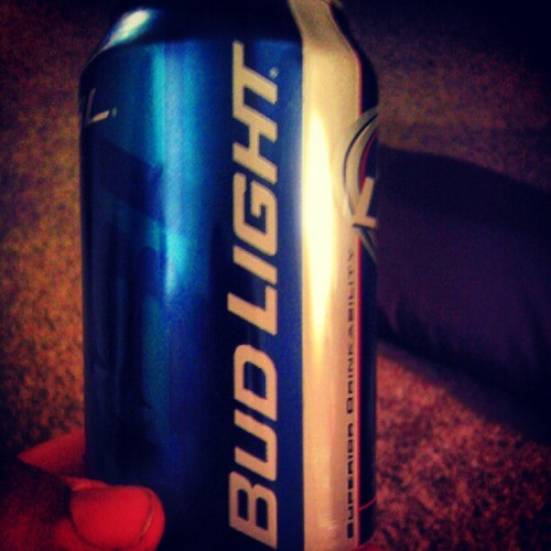 bleavenme:  #budlight (Taken with Instagram)