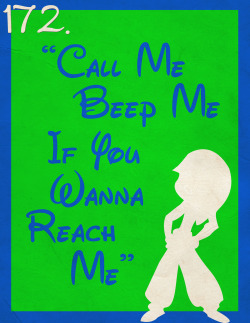 "172: ""Call Me, Beep Me, If You Wanna Reach Me"" (Kim Possible Theme Song)"