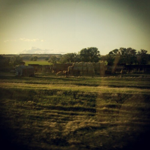 #trainride #Montana #Badlands (Taken with Instagram)