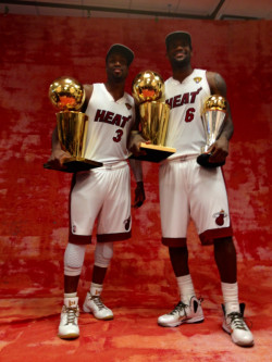 -heat:  2 Finals MVP's… Side by side.