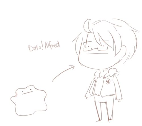 If Ditto turned into Alfred